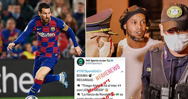Bong da, tin bong da hom nay, Barca, chuyển nhượng Barcelona, bóng đá Tây Ban Nha, Messi, Rakitic, Messi và Rakitic, mâu thuẫn Messi, Ronaldinho, bóng đá La Liga