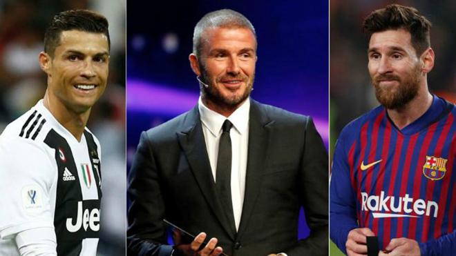Beckham: 'Ronaldo không cùng đẳng cấp với Messi'