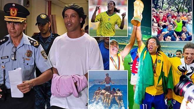 Ronaldinho từ 'Vua thác loạn' tới nhà tù Paraguay: Khi nụ cười dần tắt