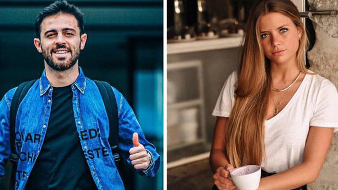 Bernardo Silva chia tay bạn gái giỏi giang, yêu siêu mẫu