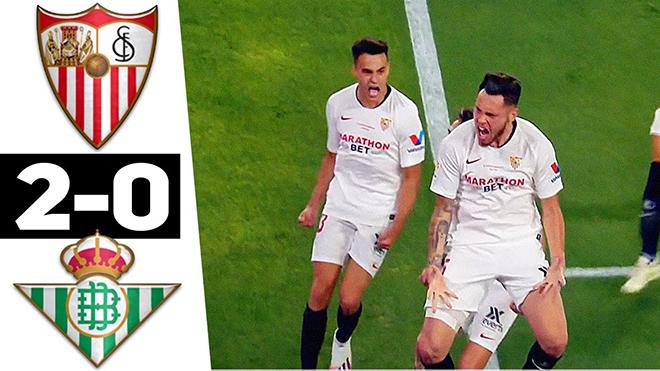 Sevilla thắng trận trong ngày La Liga trở lại nhờ Ronaldo của Argentina tỏa sáng