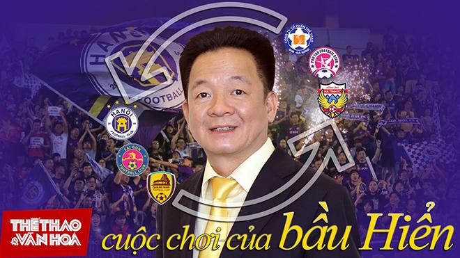 Bong da, tin bong da hom nay, bóng đá Việt Nam, tin tuc bong da, bóng đá Việt, Bầu Hiển, Hà Nội, Vleague, bóng đá hôm nay, lịch thi đấu bóng đá, tin tức bóng đá Việt Nam