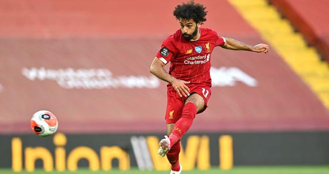 Video bàn thắng Liverpool 4-0 Crystal Palace: Salah chói sáng, Liverpool chạm tay vào ngôi vương