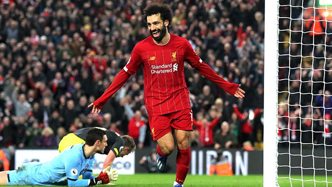 Liverpool vô địch ngoại hạng Anh: Salah, người hùng vĩ đại của Klopp