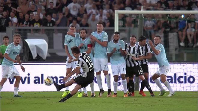 Pha đá phạt phá vỡ định luật vật lý của Paulo Dybala