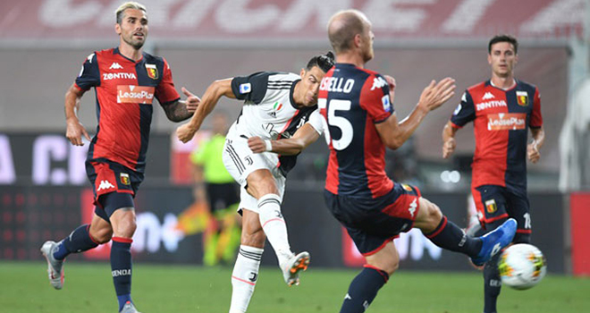 ket qua bong da, kết quả Genoa vs Juventus, kết quả bóng đá Ý, kết quả Serie A, bảng xếp hạng bóng đá Ý, BXH Serie A, Juventus, Ronaldo, bong da hom nay