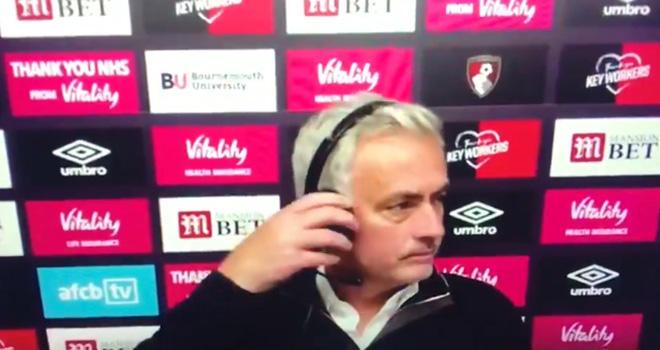 Bảng xếp hạng bóng đá Anh, BXH ngoại hạng Anh, Bournemouth 0-0 Tottenham, Mourinho bỏ họp báo, Tottenham, Kết quả bóng đá, kết quả bóng đá Anh, lịch thi đấu bóng đá Anh