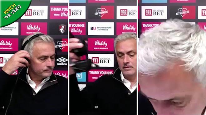 Tottenham hòa, Mourinho viện lý do để bỏ họp báo