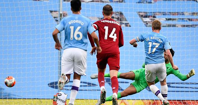 Ket qua bong da, Man City 4-0 Liverpool, ket qua bong da Anh, kết quả giải Ngoại hạng Anh, bảng xếp hạng bóng đá Anh vòng 32, kết quả Man City, Liverpool, kqbd