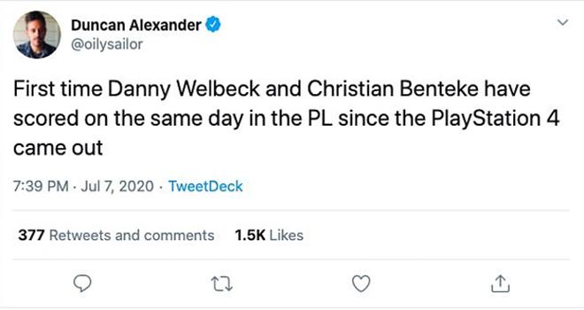 Ket qua bong da, kết quả Ngoại hạng Anh, 2 cầu thủ chân gỗ ghi bàn, kết quả bóng đá Anh, Ngoại hạng Anh, Benteke, Wellbeck, Crystal Palace vs Chelsea, Watford vs Norwich