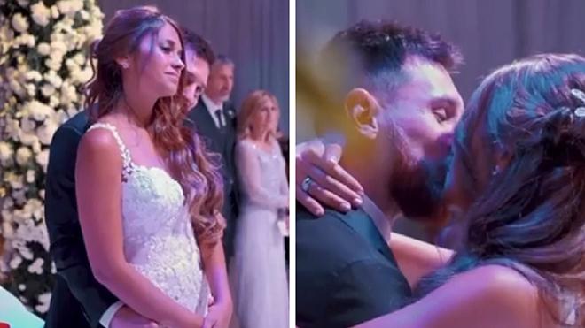 Video lễ cưới của Messi thu hút hơn 2 triệu lượt xem