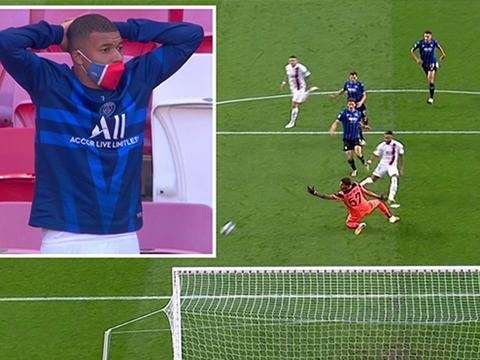 VIDEO: Mbappe sốc trước pha bỏ lỡ của Neymar