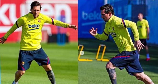 Bong da, Bóng đá hôm nay, Messi ra sân tập luyện cùng Barca, MU công bố tân binh, chuyển nhượng, chuyển nhượng MU, chuyển nhượng Barcelona, James Rodriguez, Suarez, MU
