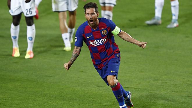 Barcelona 3-1 Napoli: Người hùng Messi chói sáng, Barca vào tứ kết cúp C1
