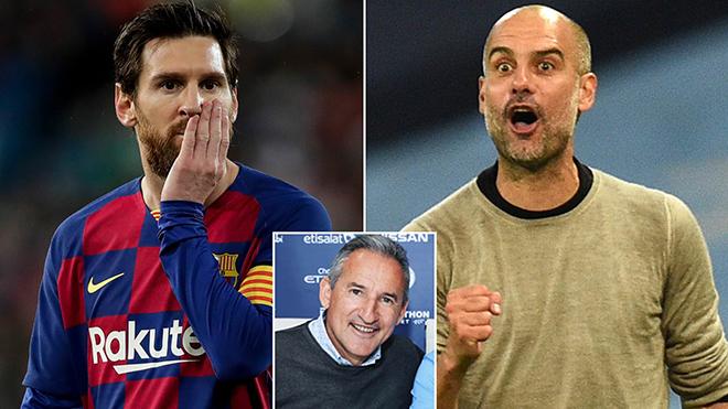 Đại diện Man City có mặt ở Barca, đề nghị hợp đồng 2 năm với Messi