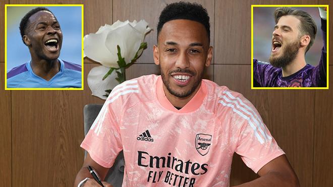 Aubameyang gia hạn với Arsenal, Top 10 cầu thủ lương cao nhất nước Anh thay đổi ra sao?