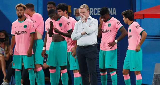Barcelona, Koeman, Koeman chưa được công nhận là HLV của Barcelona, La Liga, bóng đá Tây Ban Nha, La Liga 2020-21, Barcelona vs Villarreal, lịch thi đấu La Liga, bong da