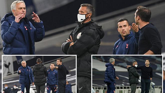 Mourinho và Lampard tranh cãi gay gắt, thầy chửi thề trò cũ