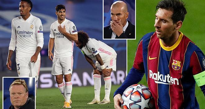 Barcelona vs Real Madrid, trực tiếp bóng đá Tây Ban Nha, trực tiếp Barcelona vs Real Madrid, trực tiếp Barca, Zidane, trực tiếp Real Madrid, Real chia tay Zidane