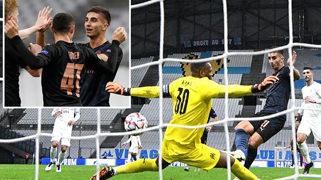 Marseille 0-3 Man City: De Bruyne lập cú đúp kiến tạo, Man City thắng dễ