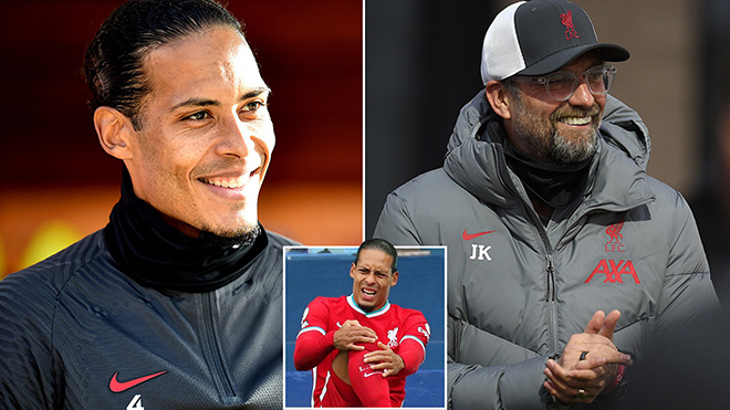 Liverpool đón tin cực vui từ Van Dijk