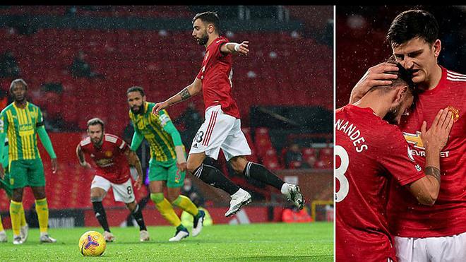 MU 1-0 West Brom: Bruno Fernandes lập công, MU thắng trận đầu tiên trên sân nhà