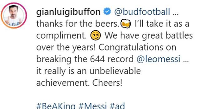 Barcelona, Messi, Messi lập kỷ lục ghi bàn, 160 thủ môn được tặng quà, Nhà tài trợ Messi tặng quà, Budweiser, Lionel Messi, Casillas, Buffon, Kepa, Oblak, Kinh điển
