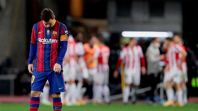 Barcelona 2-3 Bilbao: Griezmann lập cú đúp, Barcelona vẫn thua Siêu cúp Tây Ban Nha