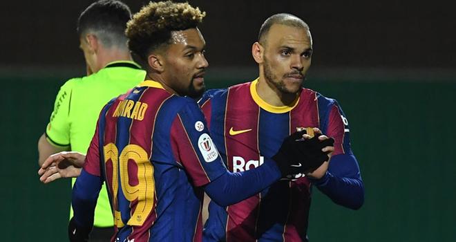 Barcelona, Barca, Cornella 0-2 Barcelona, kết quả bóng đá, kết quả cúp Nhà vua tây ban nha, tin tức bóng đá, tin bóng đá Tây Ban Nha, La Liga, Messi, Barcelona