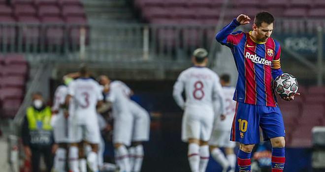 Barcelona 1-4 PSG, Barcelona-PSG, Messi, Kết quả Barcelona vs PSG,Kết quả bóng đáChampions League, Video clip bàn thắng Barca, kết quả cúp C1, Barcelona, PSG, Mbappe