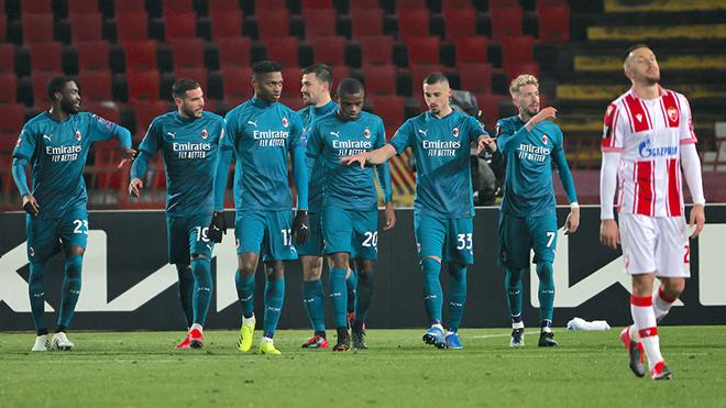 Video Milan. Video clip bàn thắng Crvena Zvezda2-2 Milan. Kết quả bóng đá C2