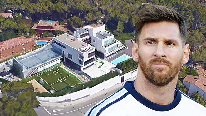 Ký hợp đồng 555 triệu euro, Messi tiêu tiền ra sao?