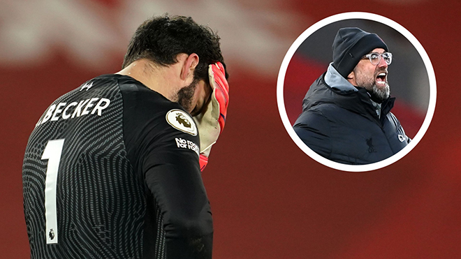 Liverpool: Klopp lấy lý do khó hiểu giải thích cho sai lầm của Alisson