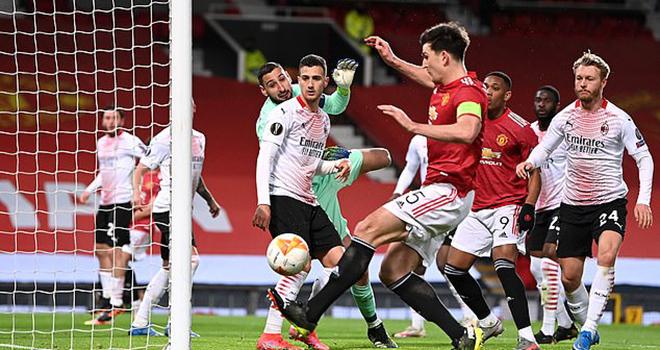 MU 1-1 AC Milan, ket qua cup C2, lượt đi vòng 1/8 Europa League, video clip bàn thắng MU vs Milan, ket qua bong da hom nay, kết quả MU đấu với Milan, kết quả MU