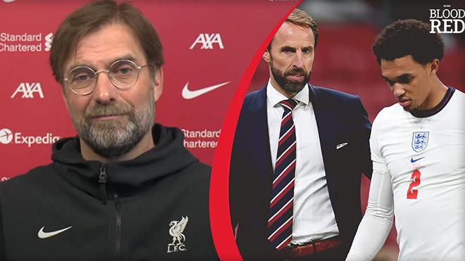 Liverpool: Klopp sốc khi trò cưng bị loại khỏi tuyển Anh