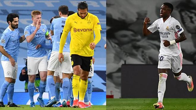 Bóng đá hôm nay 7/4: Real, Man City cùng thắng ở C1. MU trình làng cầu thủ thay Martial