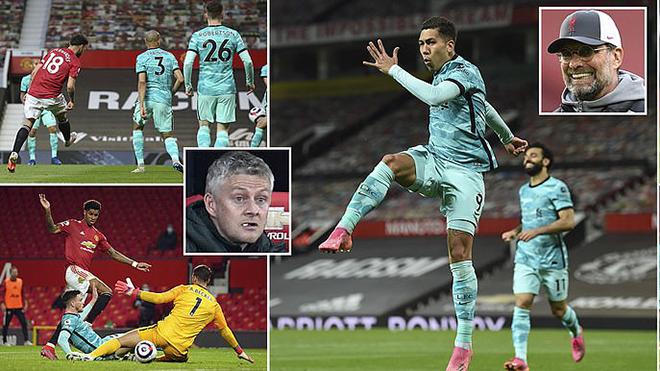 MU 2-4 Liverpool: Liên tiếp mắc sai lầm, MU thua tan nát trên sân nhà