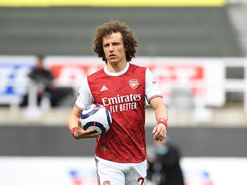 David Luiz rời Arsenal chỉ sau 2 mùa