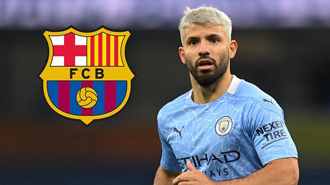 Barca hoàn tất việc chiêu mộ Sergio Aguero