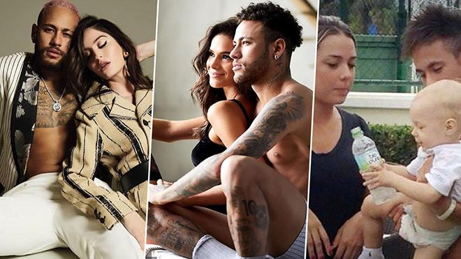 10 người tình đặc biệt trong cuộc đời Neymar