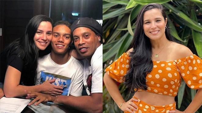 Vũ công sinh con cho Ronaldinho gia nhập mạng xã hội
