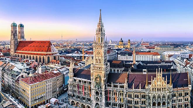 Mỗi ngày một thành phố EURO: Munich