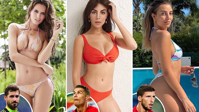 Những nàng WAGs đẹp mê hồn khoe sắc trên khán đài EURO 2021