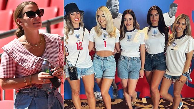 Tuyển Anh thắng trận ra quân, dàn WAGs khoe sắc trên khán đài EURO