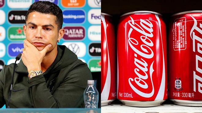 Ronaldo khiến Coca-Cola mất 4 tỷ USD vì hành động bỏ chai nước trong họp báo