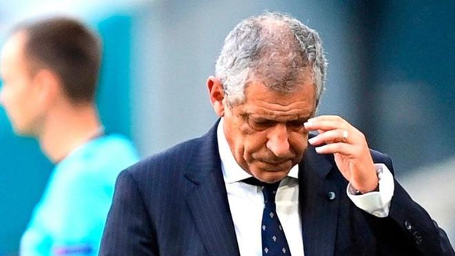 HLV Bồ Đào Nha: 'Hôm nay là ngày đáng để khóc'