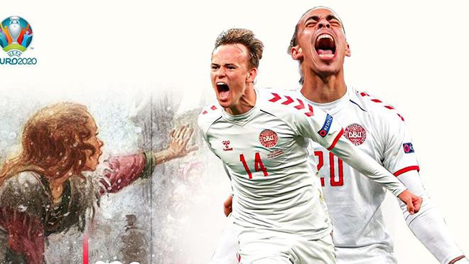 EURO 2021: Đan Mạch viết tiếp cổ tích Cô bé bán diêm