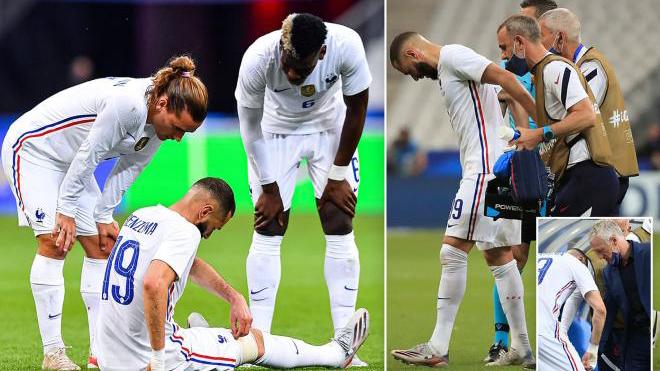 Pháp lo sốt vó với chấn thương của Benzema