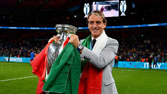 HLV Mancini: 'Chúng tôi đã thực sự dũng cảm'