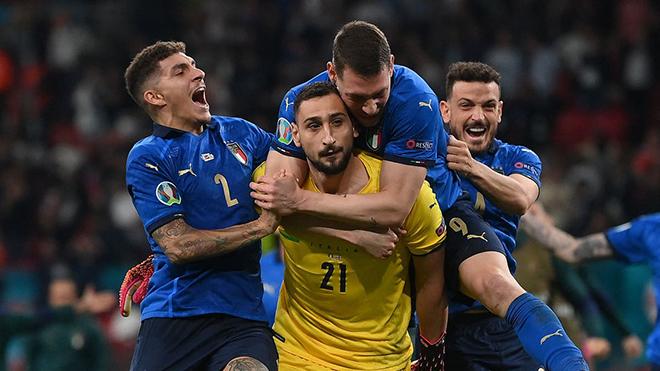 Vì sao thủ môn Donnarumma không ăn mừng khi Ý vô địch EURO?